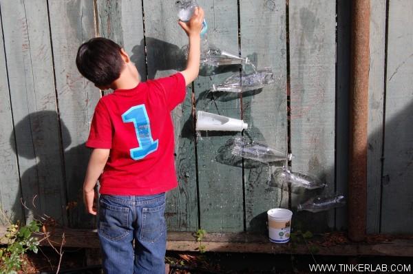 játékok vízzel gyerekeknek
