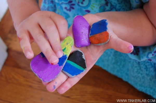 rocks rock painting