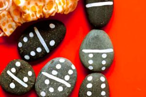 rocks rock painting