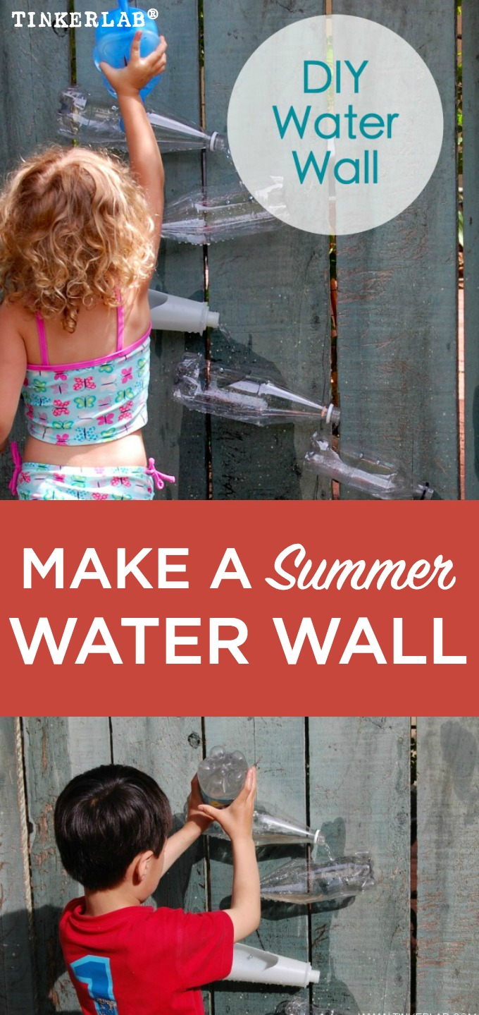 How to make an easy summer water wall