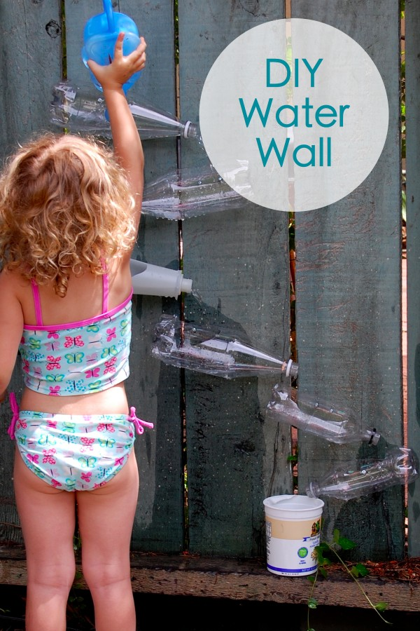 Diy water wall Diy wall water feature