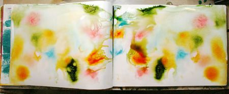 quick and easy art journal backgrounds