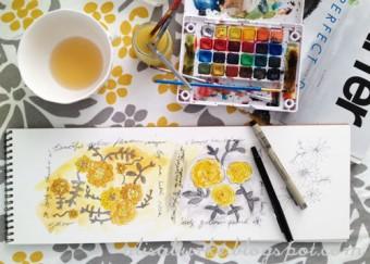 alisa burke sketchbook