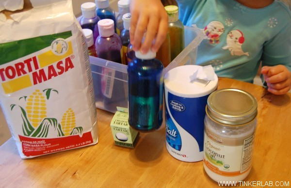 masa play dough ingredients