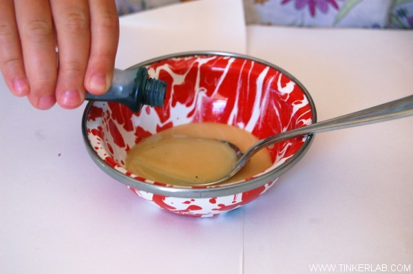 how to make sweetened condensed milk paint