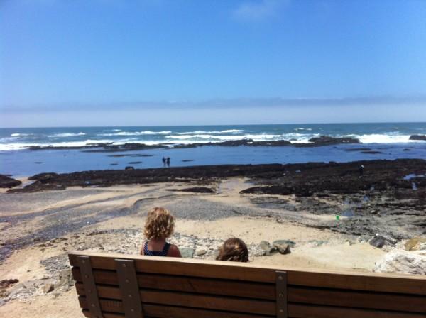 beach lunch kids