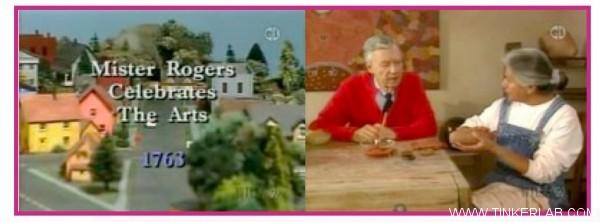 mr. rogers celebrates arts