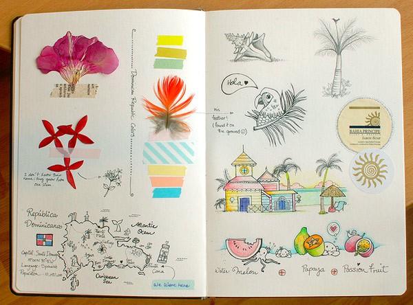 Afsaneh Tajvidi sketchbook