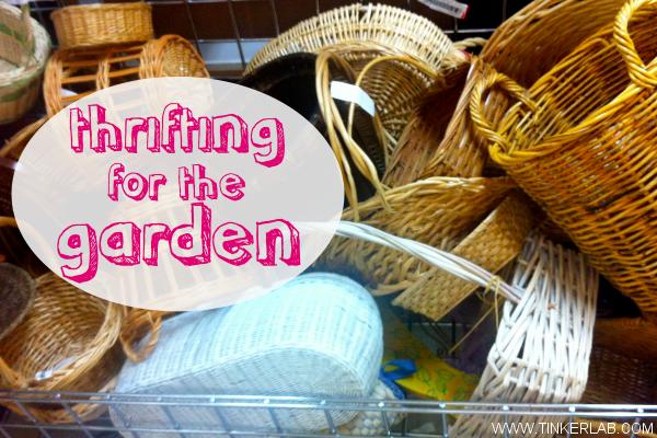 thrifting garden