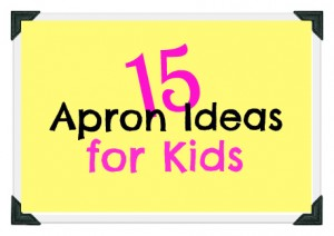 15 apron ideas for kids