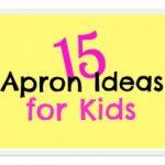 15 Apron Ideas for Kids