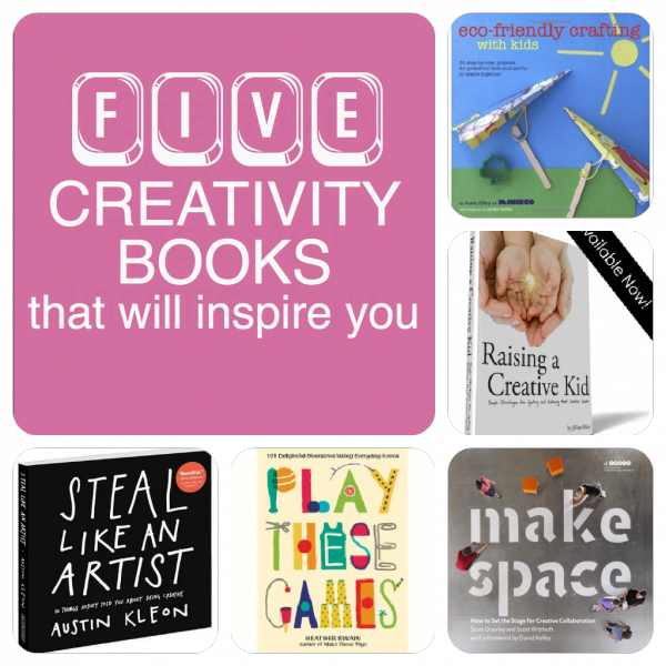 5 creativity books that will inspire you