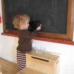 Artful Parent Water chalkboard