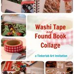 Washi Tape and Found Paper Collage