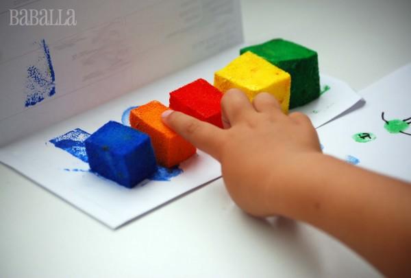 clean-er finger painting baballa