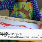 10+ Messy Art Projects That Will Leave Your House Clean
