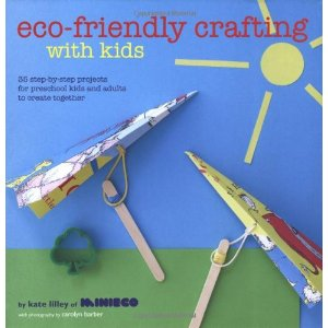 eco friendly crafting with kids