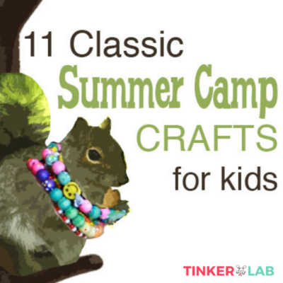 Classic summer camp crafts for kids