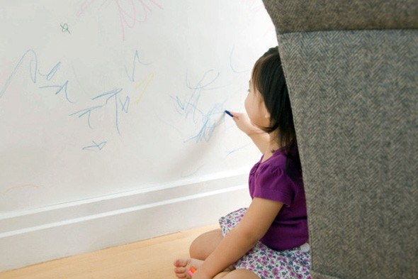 Remove Crayon Stains Around the House