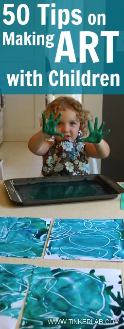 50 tips on making art with Children f
