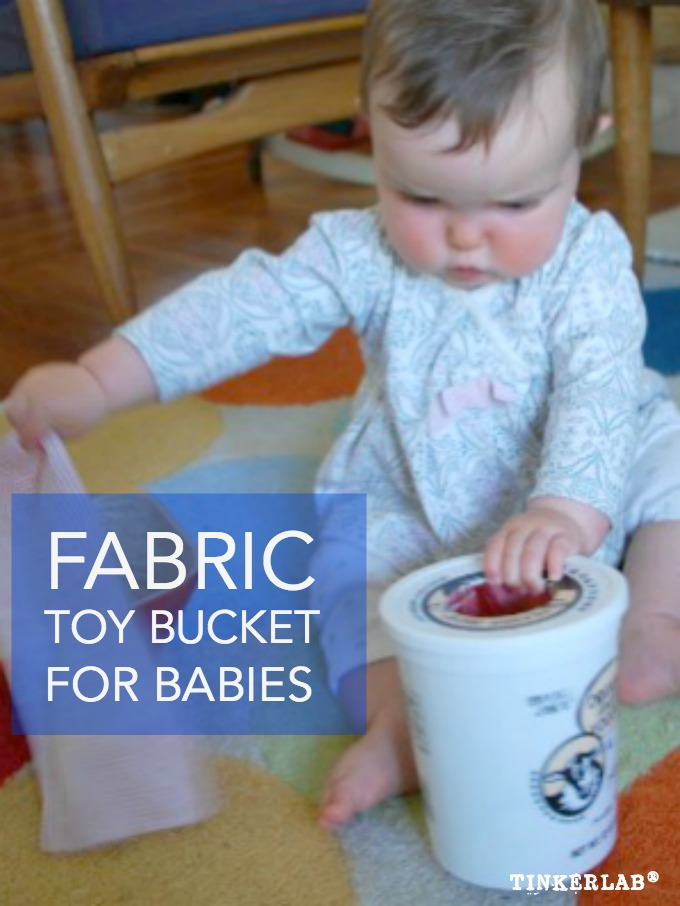 Fabric Toy Bucket for Babies