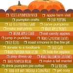 Fall 2012 Bucket List from Tinkerlab