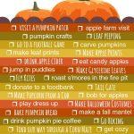 Fall 2012 Bucket List