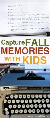 Capture Fall Memories with Kids