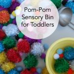 How to Entertain a Toddler with Pom-Poms and Bowls
