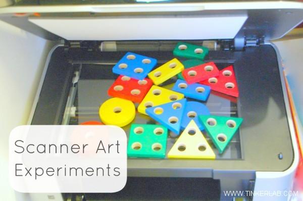 scanner art experiments