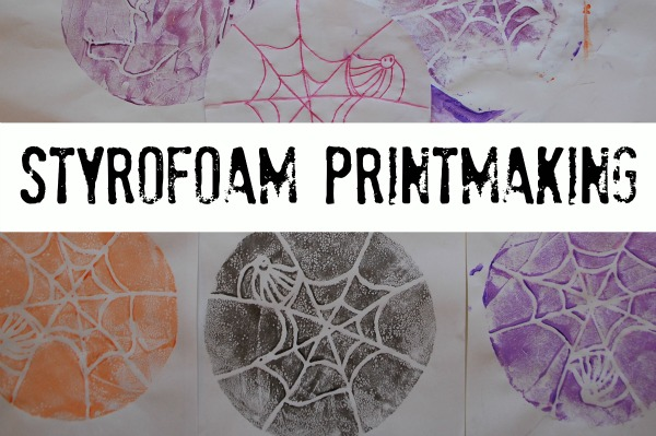 easy crafts printmaking kids