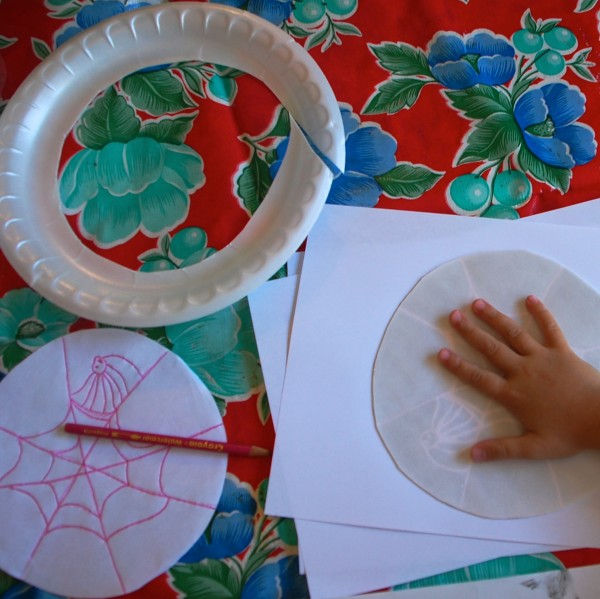 easy styrofoam prints with kids