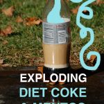 diet coke and mentos explosion