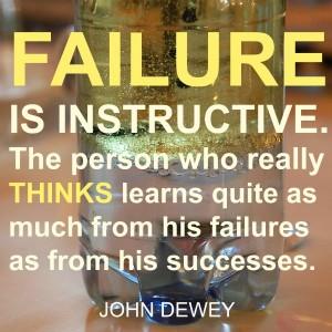 FAILURE IS INSTRUCTIVE, via Tinkerlab.com