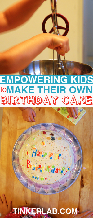 Kids Diy Make And Bake Birthday Cake
