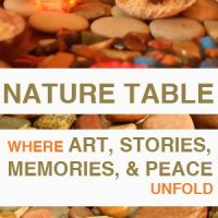 make your own spiritual nature table