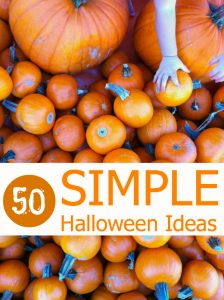50 Simple Halloween Ideas | Tinkerlab.com