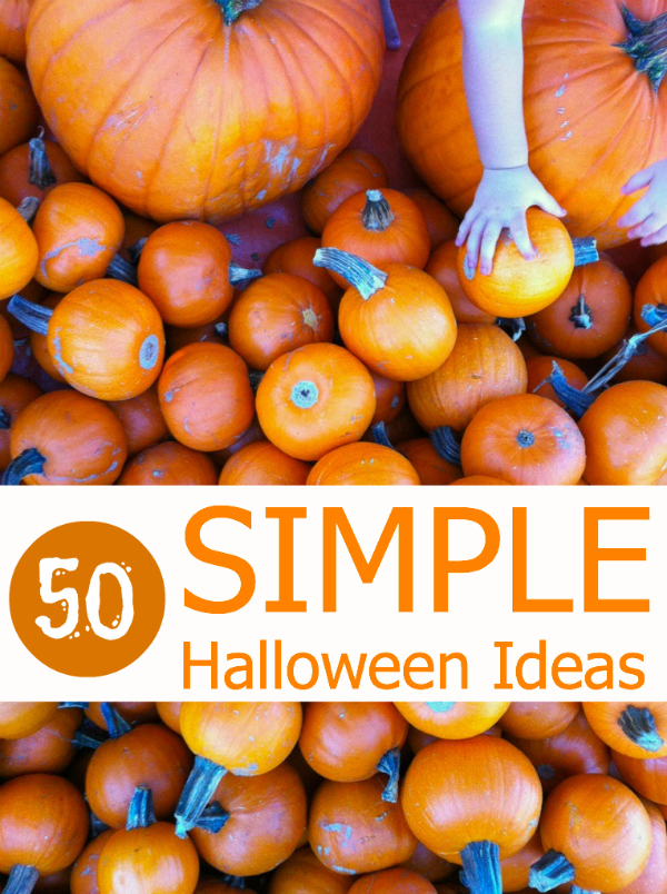 simple halloween ideas - Halloween Decorations For Kids To Make