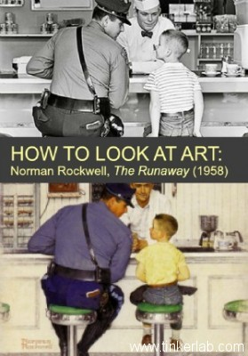 How to look at art with kids :: Tinkerlab.com
