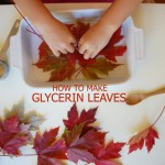 How to make glycerine Leaves