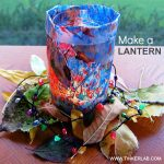 Fall Luminary: Make a Lantern