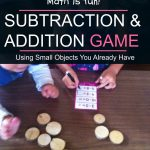 Subtraction and Addition with Manipulatives