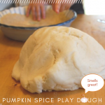 DIY Pumpkin Pie Playdough