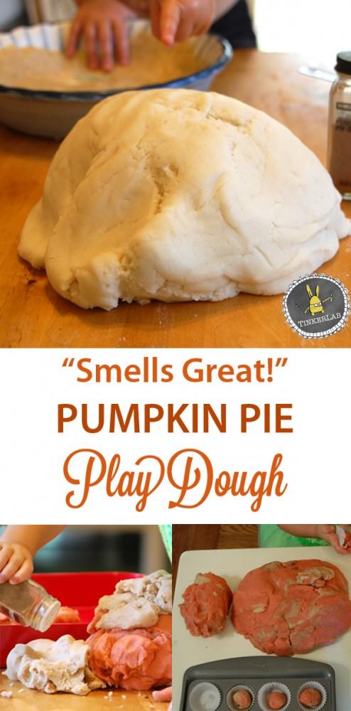 """Smells like Fall"" Pumpkin Play Dough | TinkerLab.com"