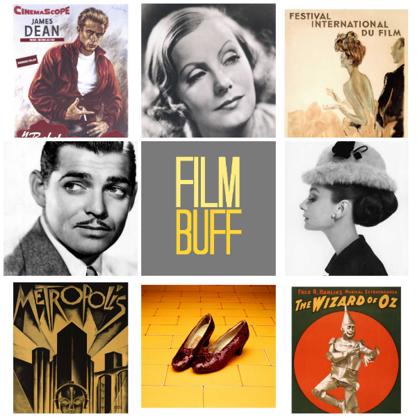 film buff collage curated by tinkerlab from art.com