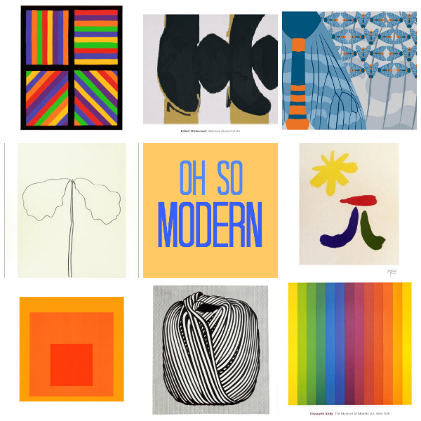 oh so modern curated by tinkerlab from art.com