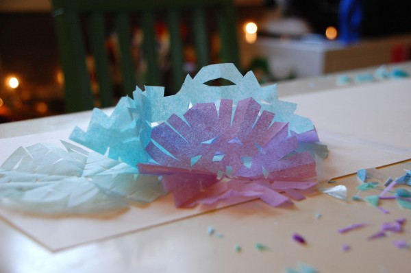 snowflake activity for kids