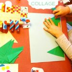 Winter Craft Collage Invitation