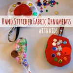 DIY Fabric Ornament With Kids