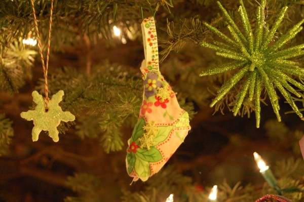 stitched ornament
